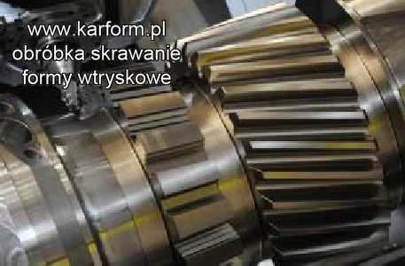 skrawanie obrobka metalu